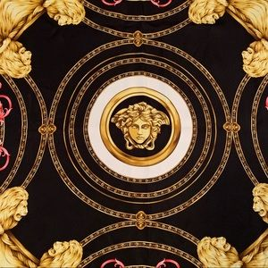 NEW Authentic Silk Versace Scarf